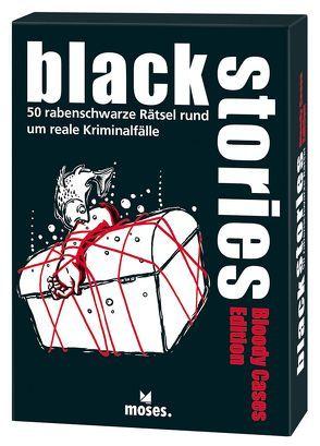 black stories Bloody Cases Edition von Harder,  Corinna, Schumacher,  Jens, Skopnik,  Bernhard
