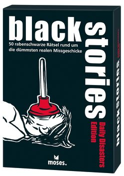 black stories – Daily Disasters Edition von Harder,  Corinna, Schumacher,  Jens, Skopnik,  Bernhard