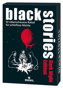 black stories Dark Night Edition von Meßmer,  Simon, Schulz,  Maximilian
