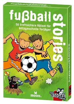 black stories junior – fußball stories von Harder,  Corinna, Kollars,  Helmut