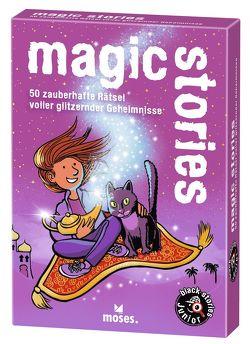 black stories junior – magic stories von Harder,  Corinna, Kollars,  Helmut