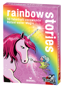 black stories Junior – rainbow stories von Harder,  Corinna, Kollars,  Helmut