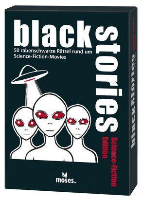 black stories – Science-Fiction Edition von Skopnik,  Bernhard, Vogel,  Elke