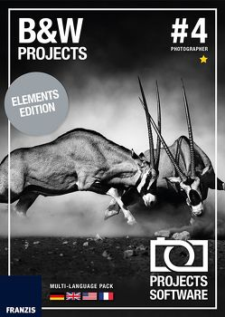 BLACK & WHITE projects 4 elements (Win & Mac)