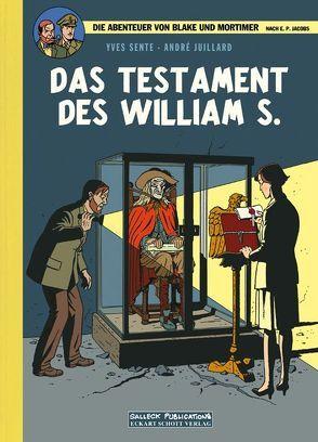 Blake und Mortimer VZA 20: Das Testament des William S. von Juillard,  André, Sachse,  Harald, Sente,  Yves