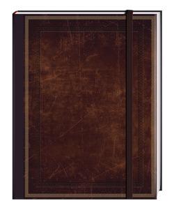 Blank Book braun (groß)