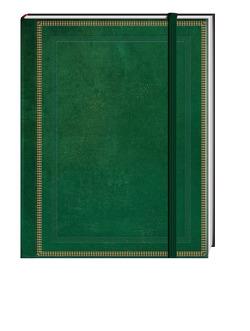 Blank Book grün (klein)