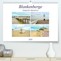 Blankenberge – belgischer Küstenort (Premium, hochwertiger DIN A2 Wandkalender 2020, Kunstdruck in Hochglanz) von Schwarze,  Nina