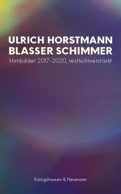Blasser Schimmer von Horstmann,  Ulrich