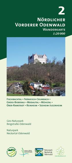 Blatt 2, Vorderer Nördlicher Odenwald