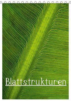 Blattstrukturen (Tischkalender 2019 DIN A5 hoch) von Boekhoff,  Herbert