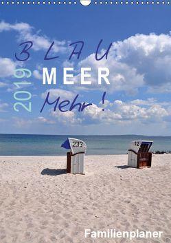 Blau – Meer – Mehr! (Wandkalender 2019 DIN A3 hoch) von Düll,  Sigrun