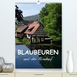 Blaubeuren und der Blautopf (Premium, hochwertiger DIN A2 Wandkalender 2020, Kunstdruck in Hochglanz) von Huschka,  Klaus-Peter