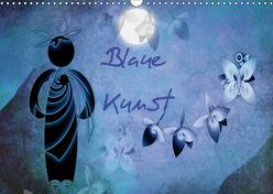 Blaue Kunst (Wandkalender 2019 DIN A3 quer) von Burlager,  Claudia