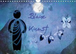 Blaue Kunst (Wandkalender 2019 DIN A4 quer) von Burlager,  Claudia