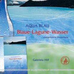 Blaue Lagune-Wasser von Hilf,  Gabriela