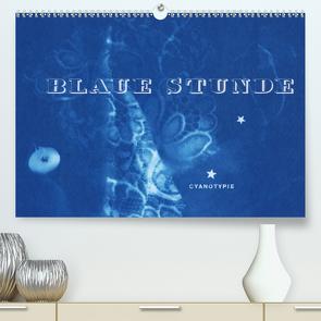 Blaue Stunde – Cyanotypie (Premium, hochwertiger DIN A2 Wandkalender 2020, Kunstdruck in Hochglanz) von Perl [INSKOPIA],  Inka