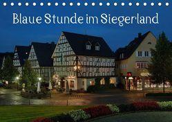 Blaue Stunde im Siegerland (Tischkalender 2019 DIN A5 quer) von Foto / Alexander Schneider,  Schneider