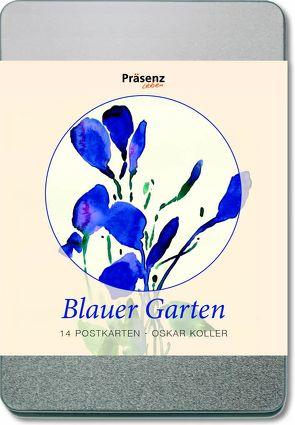 Blauer Garten von Koller,  Oskar