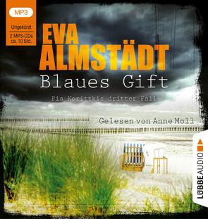 Blaues Gift von Almstädt,  Eva, Danysz,  Sebastian, Moll,  Anne