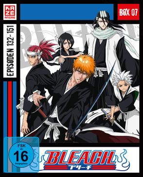 Bleach TV Serie – Blu-ray-Box 7 (Episoden 132-151) (3 Blu-rays) von Abe,  Noriyuki