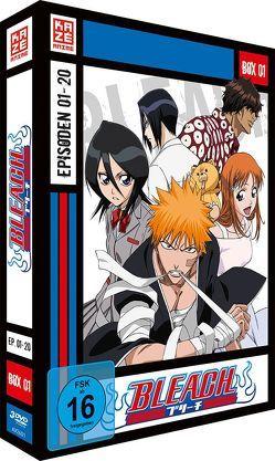 Bleach TV-Serie – DVD Box 1 (Episoden 1-20) von Abe,  Noriyuki