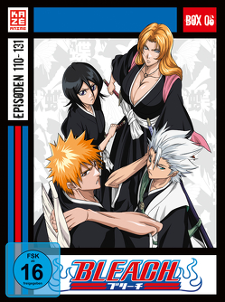 Bleach TV Serie – DVD Box 6 (Episoden 110-131) (4 DVDs) von Abe,  Noriyuki