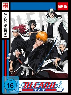 Bleach TV Serie – DVD Box 7 (Episoden 132-151) (4 DVDs) von Abe,  Noriyuki