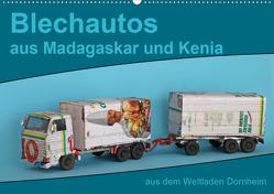 Blechautos aus Madagaskar und Kenia (Wandkalender 2021 DIN A2 quer) von Vorndran,  Hans-Georg