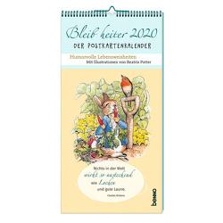 Bleib heiter 2020 – Der Postkartenkalender von Potter,  Beatrix