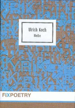 Bleibe von Koch,  Ulrich