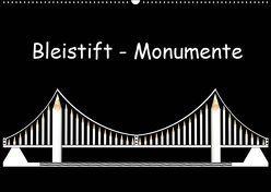 Bleistift-Monumente (Wandkalender 2019 DIN A2 quer) von Dittmann,  Udo