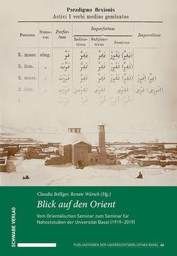 Blick auf den Orient von Bolliger,  Claudia, Würsch,  Renate