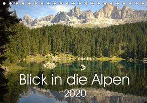 Blick in die Alpen (Tischkalender 2020 DIN A5 quer) von Andreas Lederle,  Kevin
