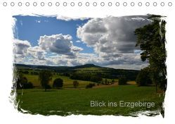 Blick ins Erzgebirge (Tischkalender 2019 DIN A5 quer) von Teschner,  Manfred