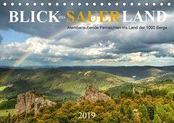 Blick ins Sauerland (Tischkalender 2019 DIN A5 quer)