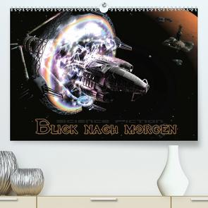 Blick nach morgenCH-Version (Premium, hochwertiger DIN A2 Wandkalender 2021, Kunstdruck in Hochglanz) von Schröder,  Karsten