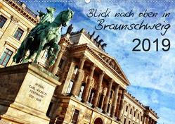 Blick nach oben in Braunschweig (Wandkalender 2019 DIN A2 quer) von Silberstein,  Reiner