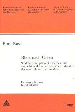 Blick nach Osten von Rose,  Ernst, Schuster,  Ingrid