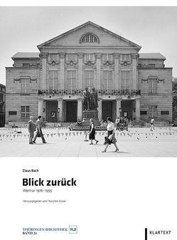Blick zurück von Bach,  Claus, Büker,  Thorsten