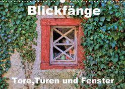 Blickfänge – Tore, Türen und Fenster (Wandkalender 2019 DIN A3 quer) von Klatt,  Arno