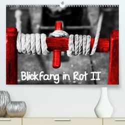 Blickfang in Rot (Premium, hochwertiger DIN A2 Wandkalender 2020, Kunstdruck in Hochglanz) von Kimmig,  Angelika