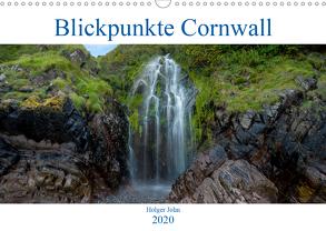 Blickpunkte Cornwall (Wandkalender 2020 DIN A3 quer) von John,  Holger