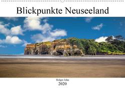 Blickpunkte Neuseeland (Wandkalender 2020 DIN A2 quer) von John,  Holger