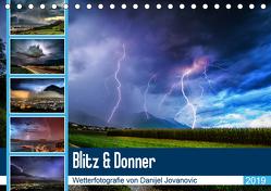 Blitz & DonnerAT-Version (Tischkalender 2019 DIN A5 quer) von Jovanovic,  Danijel
