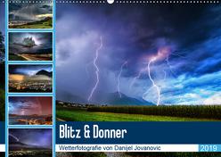 Blitz & DonnerAT-Version (Wandkalender 2019 DIN A2 quer) von Jovanovic,  Danijel