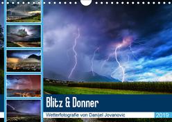 Blitz & DonnerAT-Version (Wandkalender 2019 DIN A4 quer) von Jovanovic,  Danijel