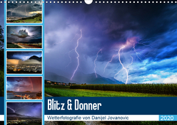 Blitz & DonnerAT-Version (Wandkalender 2020 DIN A3 quer) von Jovanovic,  Danijel