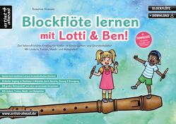 Blockflöte lernen mit Lotti & Ben! von Hossain,  Susanne
