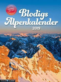 Blodigs Alpenkalender 2019 von Radehose,  Eckehard